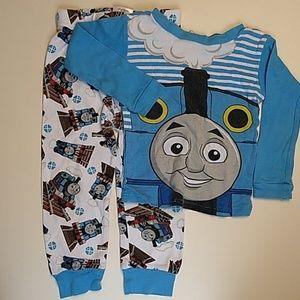 Boys Thomas the train pajama bundle